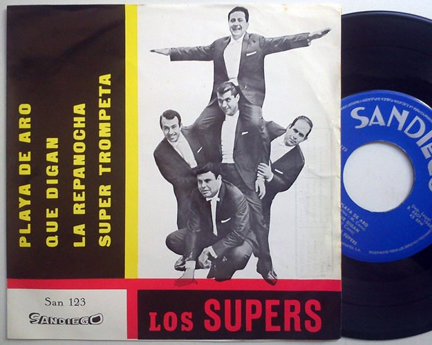 Supers, los playa de aro / que digan / la repanocha / super trompeta