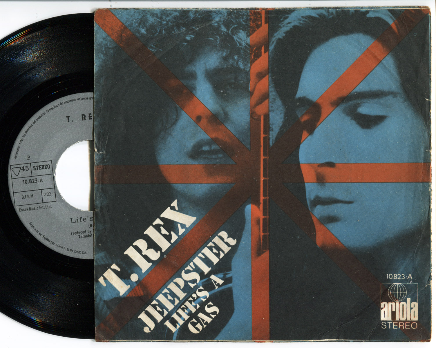 T.Rex jeepster / life's a gas