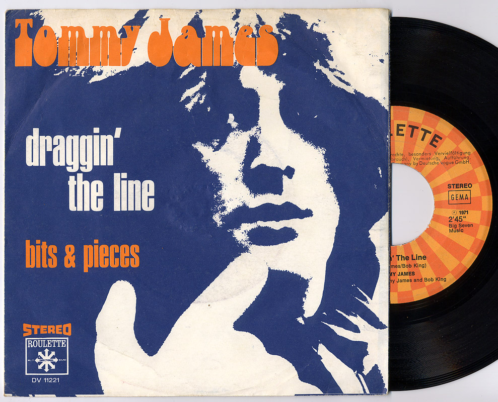 Tommy James draggin' the line / bits & pieces