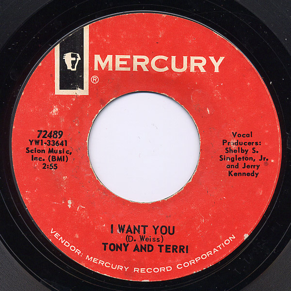 Tony and Terri i want you / take me now