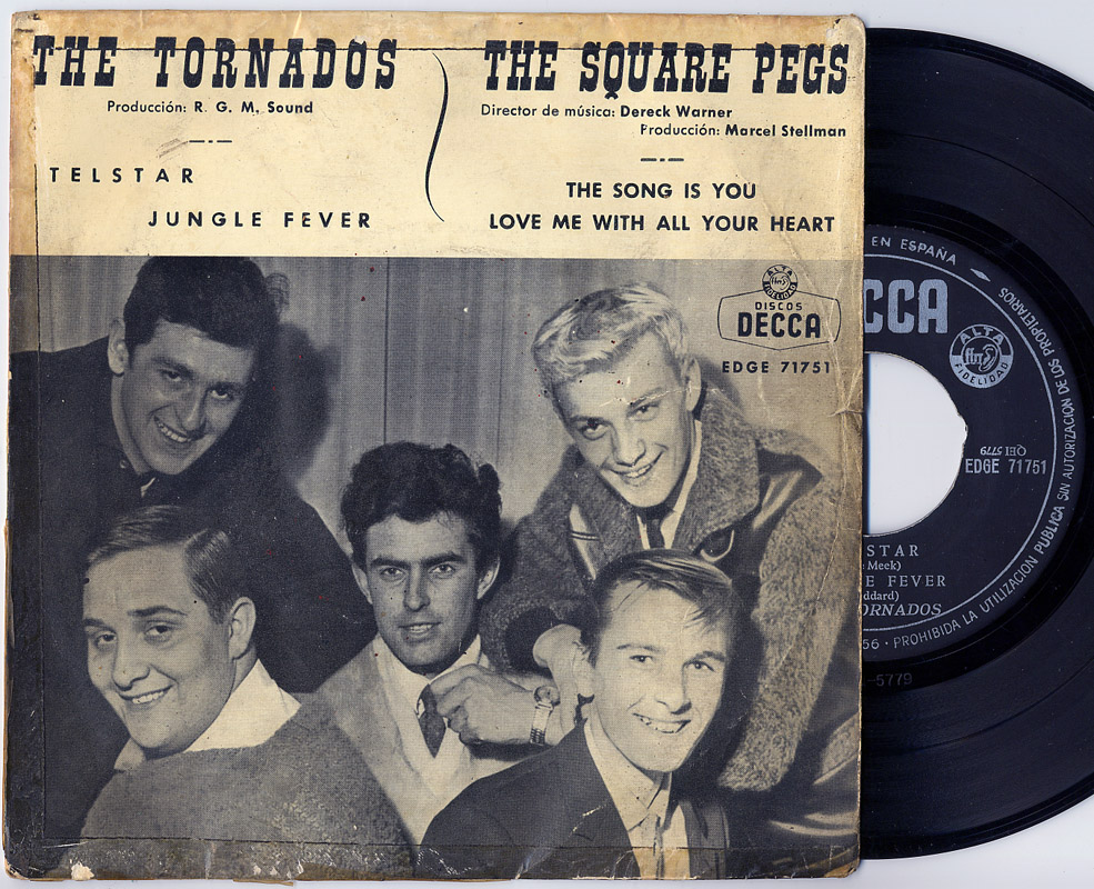 Tornados, the / Square Pegs, the telstar / jungle fever / the song is you / love me with all your heart