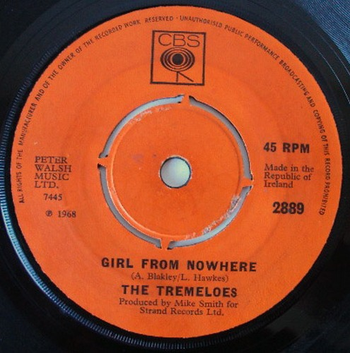 Tremeloes, the girl from nowhere / helule helule