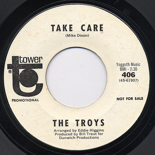 Troys, the gotta fit you into my life / take care