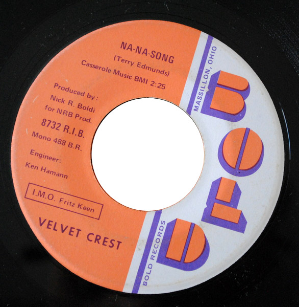 Velvet Crest na-na song / did you ever feel like kicking yourself