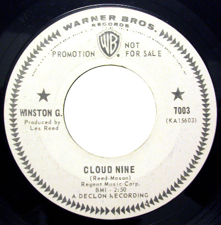 Winston G cloud nine / i'll make you cry tomorrow