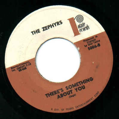 Zephyrs, the there's something about you / she's lost you